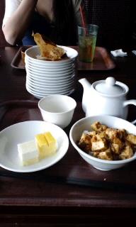麻婆豆腐はデザートです。